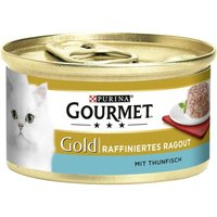 Gourmet Gold Refined Ragout 12 x 85g - Beef