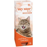 My Star is a Rocker Wet Cat Food - Chicken - 10 x 90g