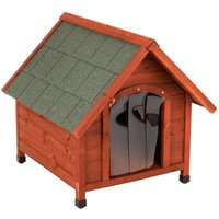 Set: Spike Comfort Dog Kennel + Insulation - Size XL: 112 x 96 x 105 cm (L x W x H)