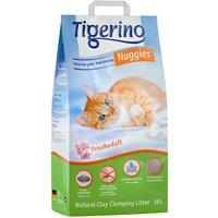 Tigerino Nuggies Cat Litter Fresh - 14l
