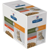 Hills Prescription Diet Feline - Metabolic + Urinary - Saver Pack: 24 x 85g