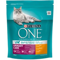 Purina ONE Urinary Care Chicken & Wheat Dry Cat Food - 800g