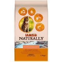 IAMS Naturally Cat Adult Salmon - Economy Pack: 2 x 2.7kg