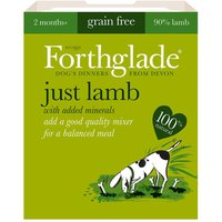 Forthglade Just 90% Complimentary Meal - Lamb - Saver Pack: 36 x 395g