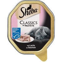 Sheba Classic Terrine Trays - Saver Pack: Veal & Chicken (44 x 85g)