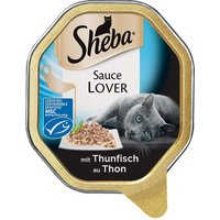 Sheba Sauce Lover Trays - Saver Pack: Salmon (44 x 85g)