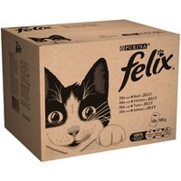 Felix Pouches 120 x 100g - Jelly Selection