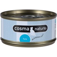 Lot Cosma Nature 48 x 70 g - saumon
