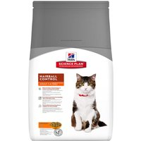 Hills Science Plan Adult Cat Hairball Control - Chicken - 5kg