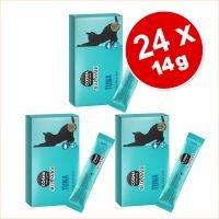 Cosma Jelly Snack 24 x 14 g snacks para gatos - Pack ahorro - Mezcla de 3 variedades