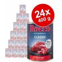 Pack Ahorro: Rocco Classic 24 x 400 g - Vacuno con caza