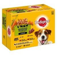 Pedigree Frischebeutel Multipack Nassfutter für Hunde - 12 x 100 g in Gelee