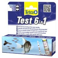 TetraTest 6 in 1 - 25 tiras para análisis