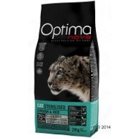 Optimanova Sterilised para gatos esterilizados - 8 kg