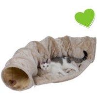 zoolove túnel con cojín para gatos - 116 x 54 x 26 cm (L x An x Al)