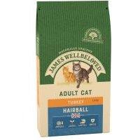 James Wellbeloved Adult Hairball Pavo y arroz - 4 kg