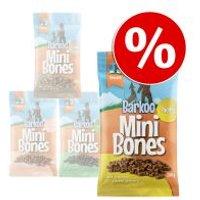 Barkoo Mini Bones  8 x 200 g - Pack Ahorro - Con panza