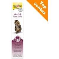 GimCat Malt-Soft Extra pasta de malta para gatos - 3 x 200 g - Pack Ahorro