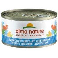 Almo Nature con pescado 6 x 70 g - Atún y almejas