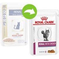 Royal Canin Renal Veterinary Diet sobres para gatos - Pescado 24 x 85 g - Pack Ahorro