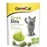 GimCat Gras Bits comprimidos de hierba para gatos - 2 x 140 g - Pack Ahorro