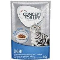 Concept for Life Light Adult en salsa - 48 x 85 g