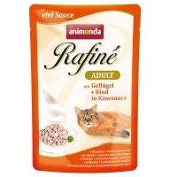 Animonda Rafiné in Sauce 12 x 100g - Adult Poultry, Rabbit & Ham
