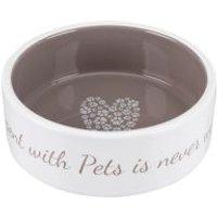 Comedero de cerámica Pet's Home de Trixie  - 300 ml, diám. 12 cm