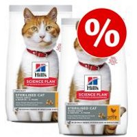 Hill's Science Plan pienso para gatos - Pack Ahorro - Young Adult Sterilised con atún - 2 x 15 kg