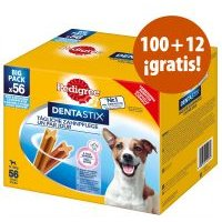 Pedigree Dentastix 112 uds. en oferta: 100 + 12 ¡gratis! - Perros grandes