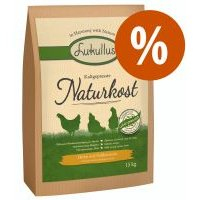 Lukullus Naturkost pienso prensado en frío ¡a precio especial! - 15 kg