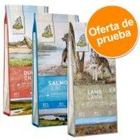 Isegrim Adult 3 x 3 kg - Pack de prueba mixto - Pack mixto III: ciervo, salmón y cordero