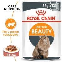 Royal Canin Intense Beauty en salsa - 24 x 85 g - Pack Ahorro