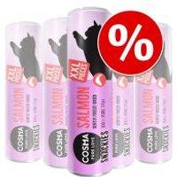 Cosma Snackies XXL snacks para gatos - Pack Ahorro - 5 x 30 g Pollo (150 g)