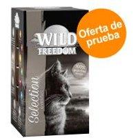 Wild Freedom Adult en tarrinas - Pack de prueba mixto - 6 x 85 g