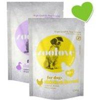 zoolove snacks liofilizados para perros 2 x 100 g - Pack mixto - Pack mixto: 1 x pollo + 1 x pato
