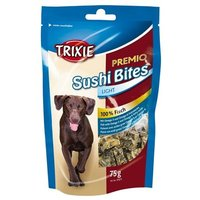 Trixie Premio Sushi Bites Light snack de pescado para perros - 3 x 75 g - Pack Ahorro