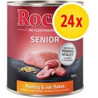 Rocco Senior pack ahorro: 24 x 800 g - 2 surtidos diferentes