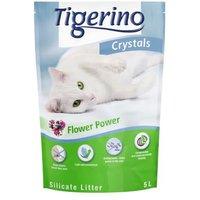 Tigerino Crystals Flower-Power Katzenstreu - 5 l