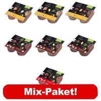 proCani BARF Wochenpaket Menü 7 verschiedene Produkte - 20 x 2 x 200 g