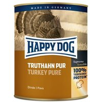 Happy Dog Pur 6 x 800 g - Büffel Pur