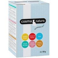 Gemischtes Probierpaket Cosma Nature Frischebeutel - 6 x 50 g