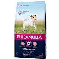 Eukanuba Caring Senior Small Breed Huhn - 3 kg