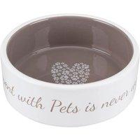 Trixie Keramiknapf Pet's Home - 300 ml, Ø 12 cm