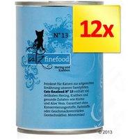 catz finefood en latas 12 x 400 g - Pack Ahorro - Cordero y conejo