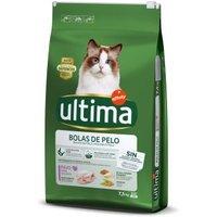 Ultima Cat Hairball - Truthahn & Reis - 7,5 kg