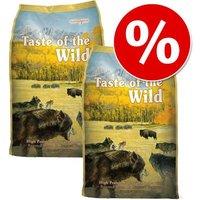 Pack Ahorro: Taste of the Wild 2 x 12,2 / 13 kg - Pine Forest (2 x 12,2 kg)