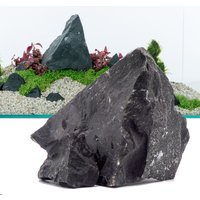 Black Rock Aquarium Decoration - 100cm Set: 10 natural rocks, approx. 13kg