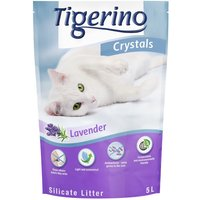 Tigerino Crystals Lavender Cat Litter - Super Pack: 6 x 5 litre