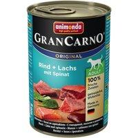 6x400g Original Adult pur bœuf Animonda GranCarno - Nourriture pour chien